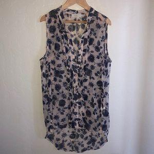 NORDSTROM LUSH    sleeveless blouse